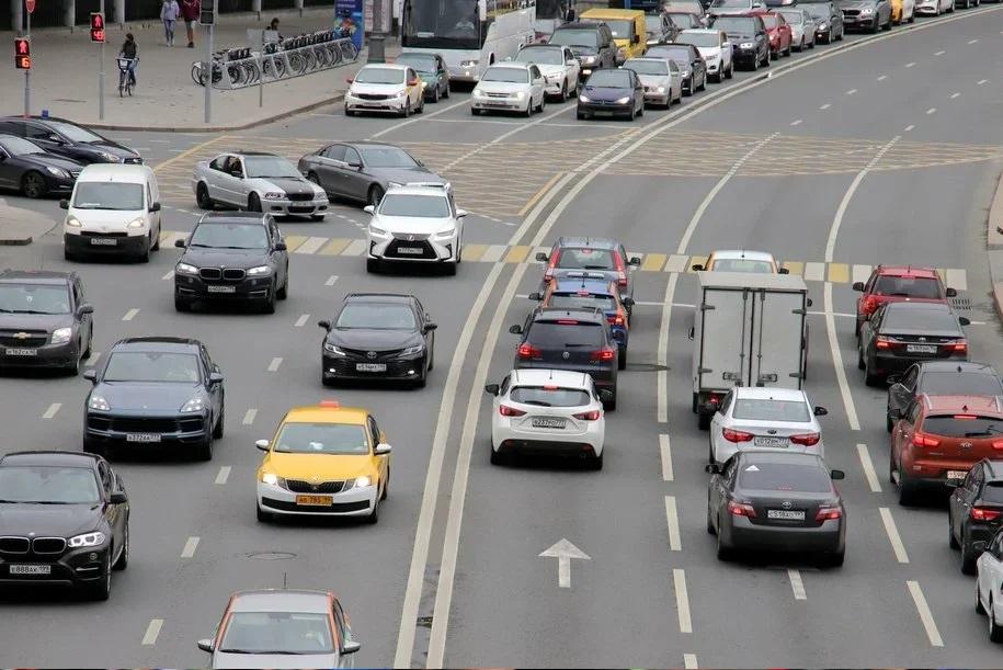 В центре Москвы на ряде улиц ограничат движение по 25 апреля 2021 года