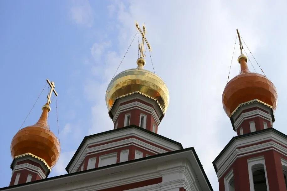 Главный храм МЧС России в районе Фили-Давыдково завершат в октябре