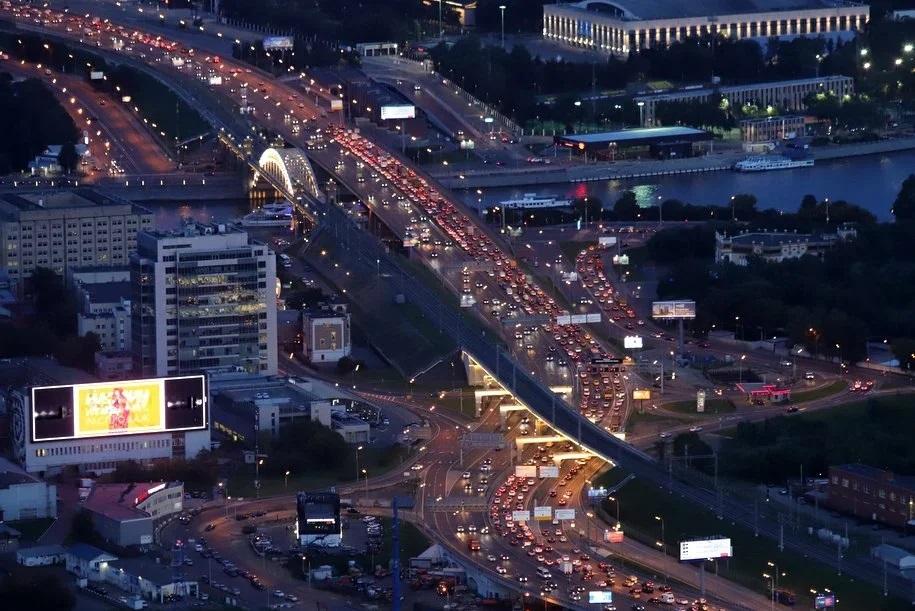 Названы самые популярные машины в Москве