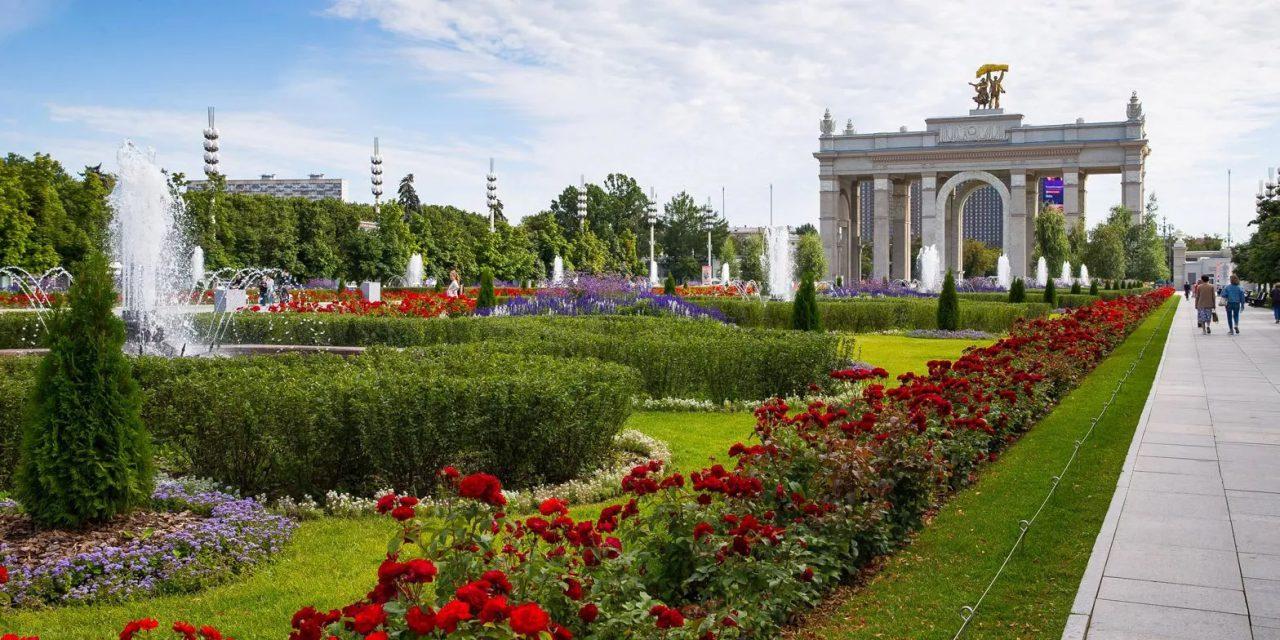 На территории ВДНХ в этом году расцвело рекордное количество цветов