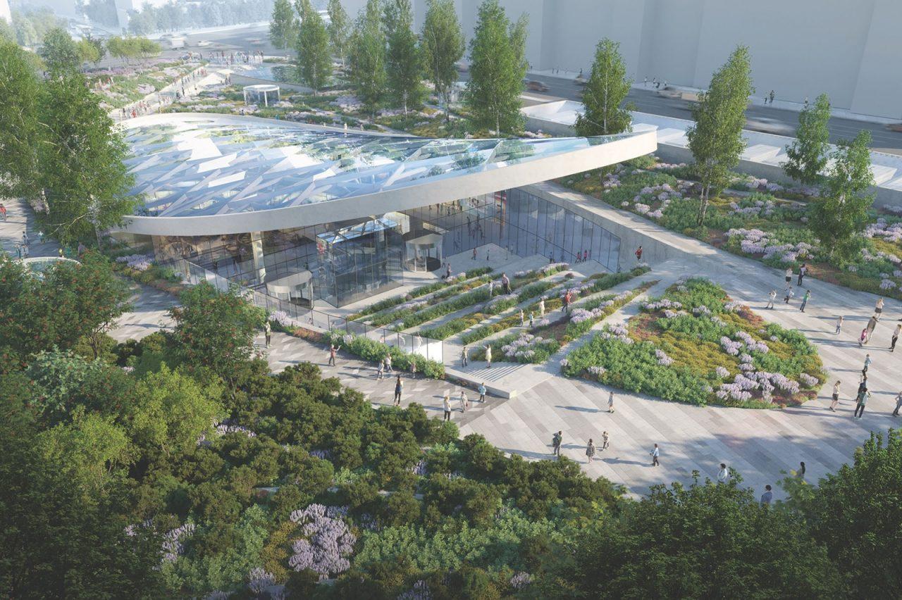 ТЦ под Павелецким вокзалом откроют в третьем квартале 2021 года