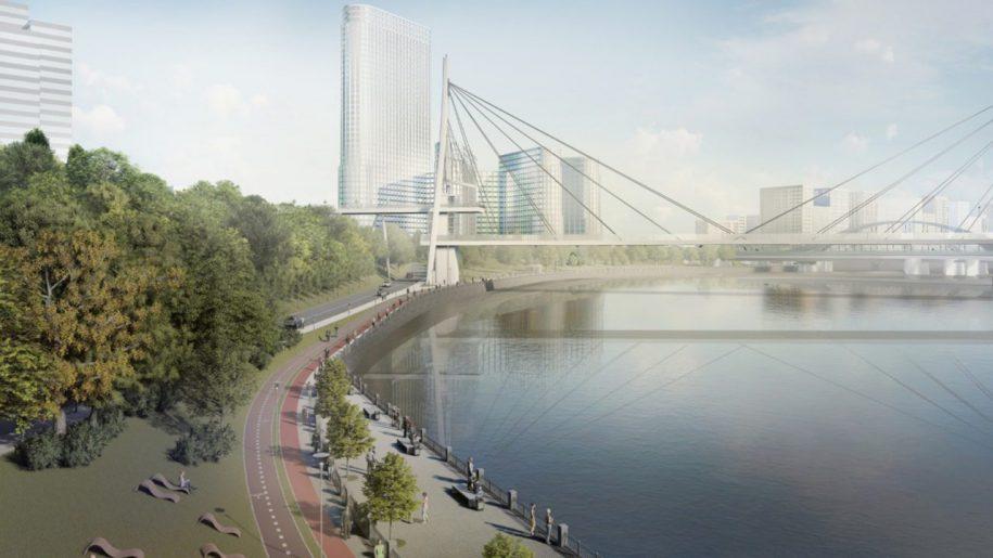 Собянин утвердил проект пешеходной набережной у Шелепихинского моста