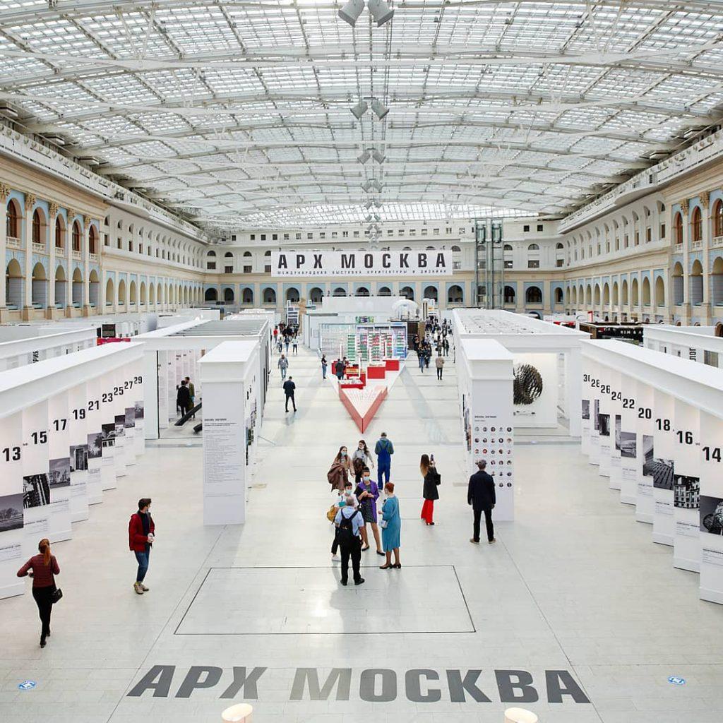 Стенд холдинга «Мосинжпроект» стал одной из самых посещаемых локаций прошедшей выставки АРХ МОСКВА.