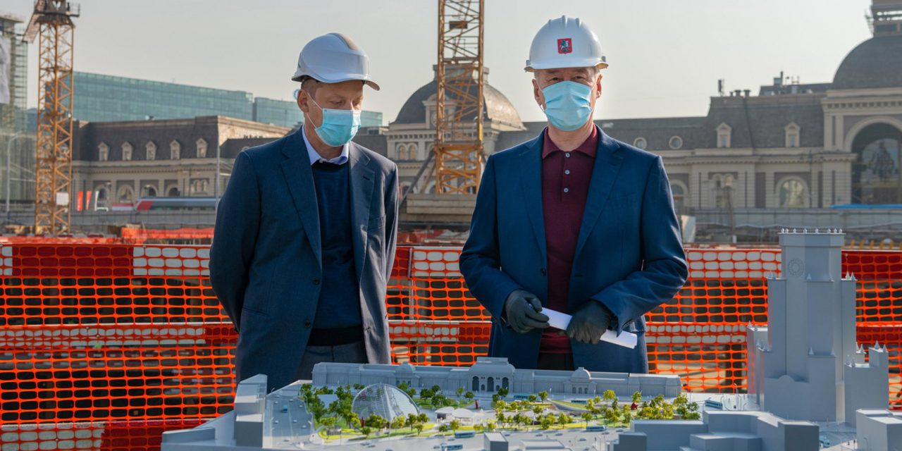 Реконструкцию и благоустройство Павелецкой площади завершат в 2021 году