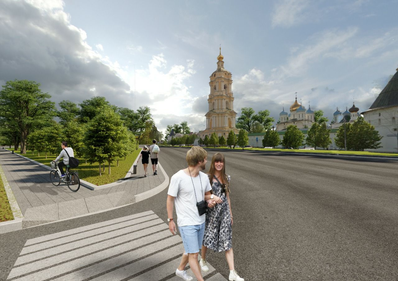 Территорию около станции метро «Коломенская» планируют благоустроить