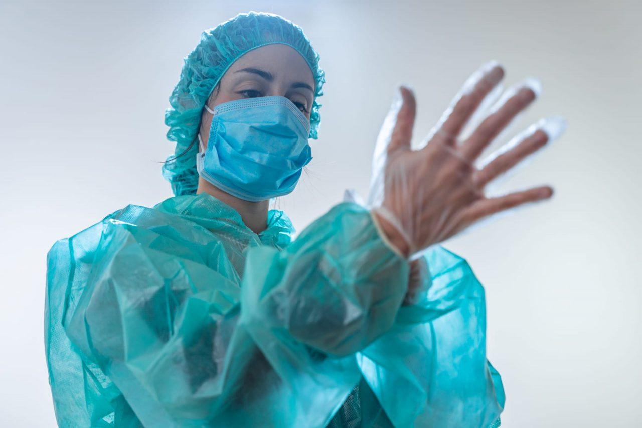 На ИВЛ в Москве находится 342 пациента с COVID-19