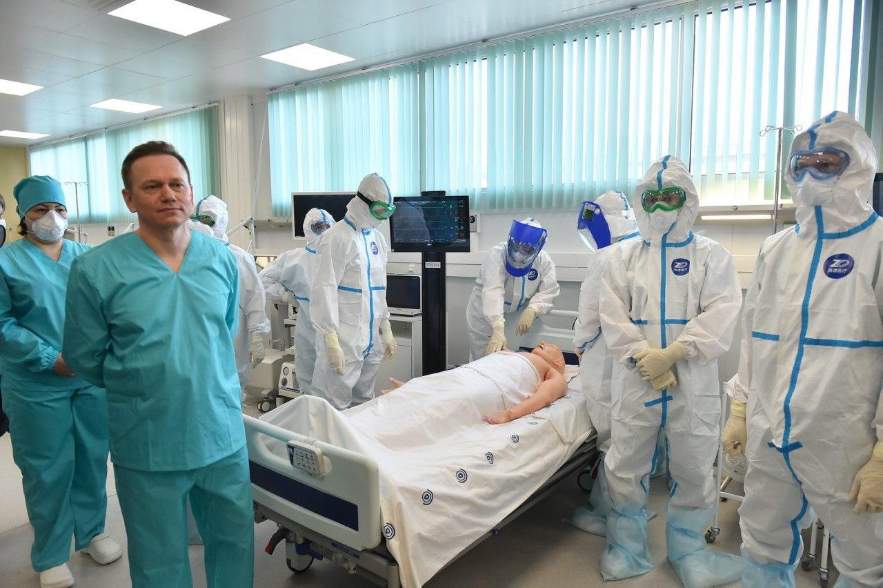 На ИВЛ в Москве находятся 322 пациента с COVID-19