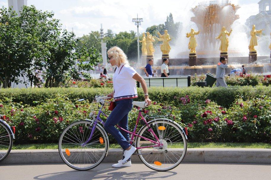 На ВДНХ продлили сезон велопроката до 31 октября
