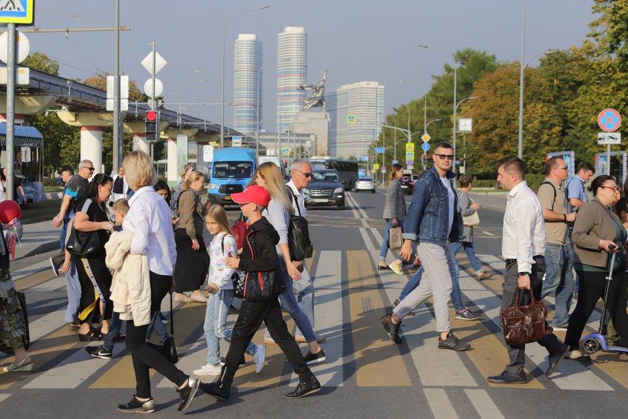 Высокое атмосферное давление ожидает москвичей в воскресенье