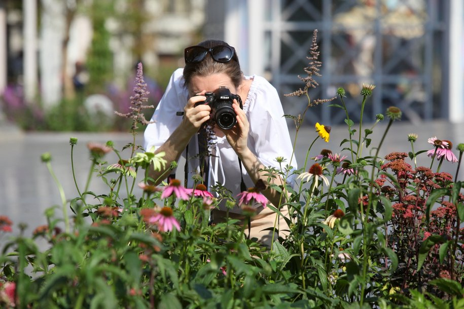 Более миллиона многолетних цветов высадили в Москве к осени