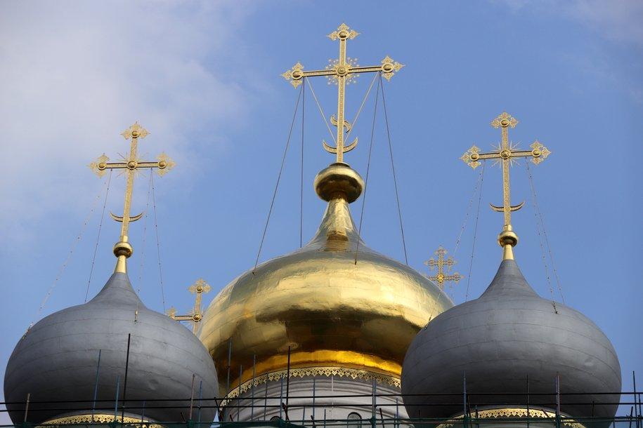 С начала года в Москве построили девять храмовых комплексов