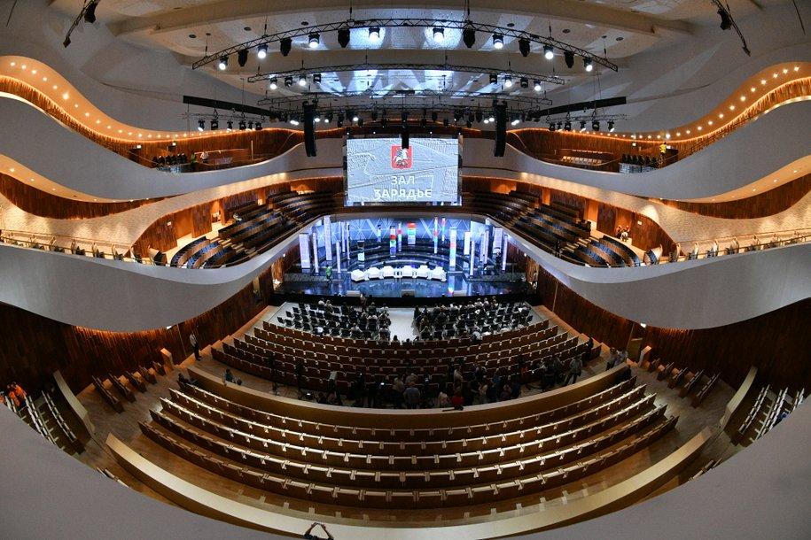 Концертный зал «Зарядье» подготовил эксклюзивную экскурсию