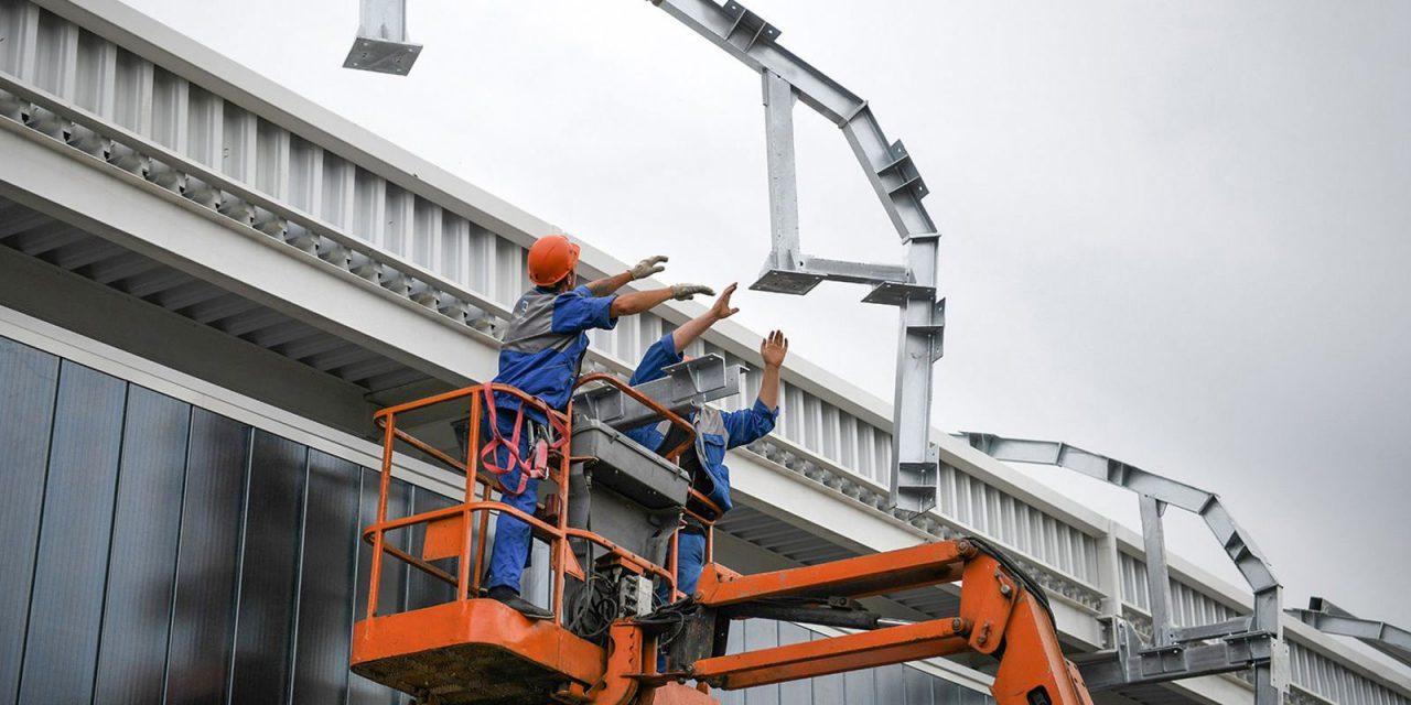 Капитальный ремонт Киевского путепровода завершат до конца октября