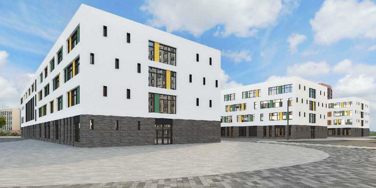 Школу на 2100 мест построят в Рассказовке