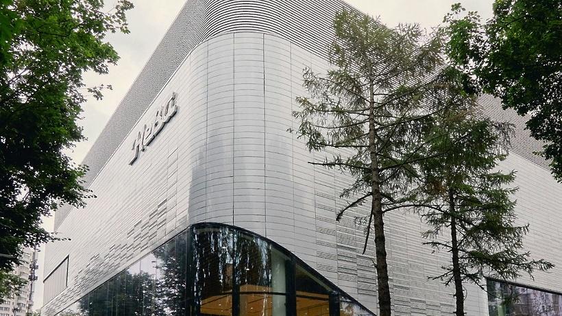На севере Москвы реконструировали кинотеатр «Нева»