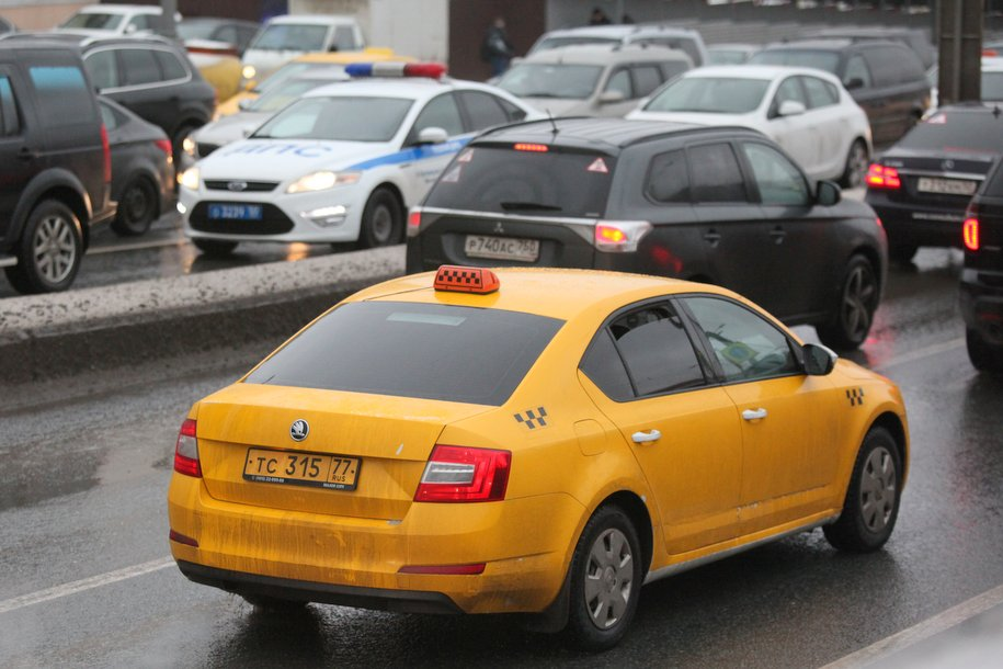 8‑балльные пробки образовались на столичных дорогах