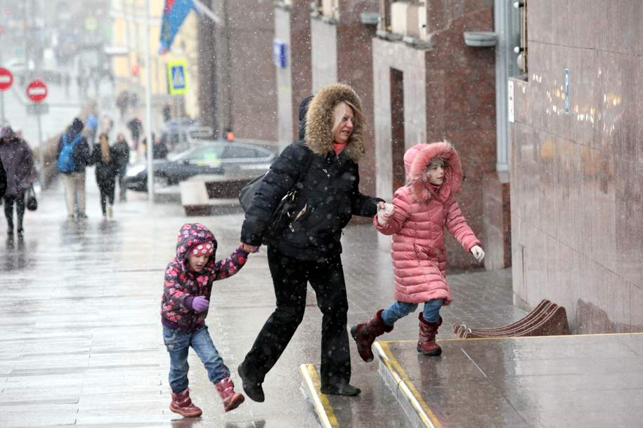 Антициклон «Сибиряк» принесет зиму в Московский регион