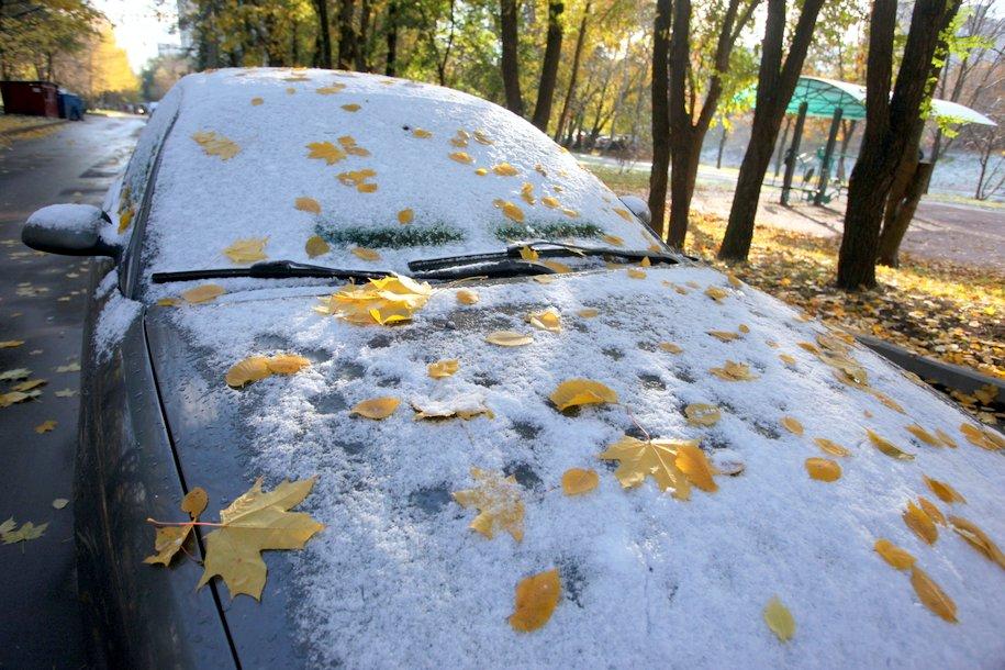 Похолодание и мокрый снег ожидаются в Московском регионе на предстоящей неделе