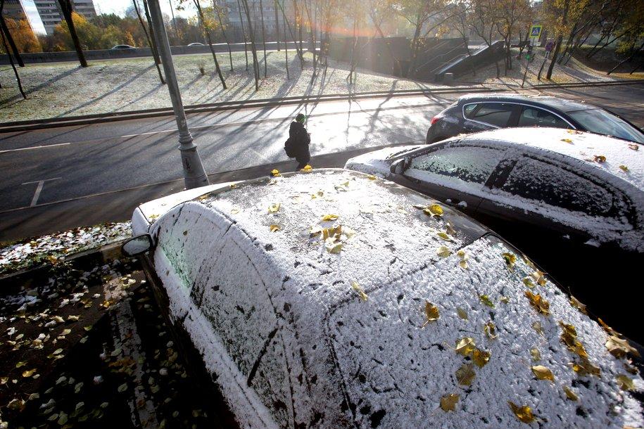Москвичей предупредили о ледяном дожде