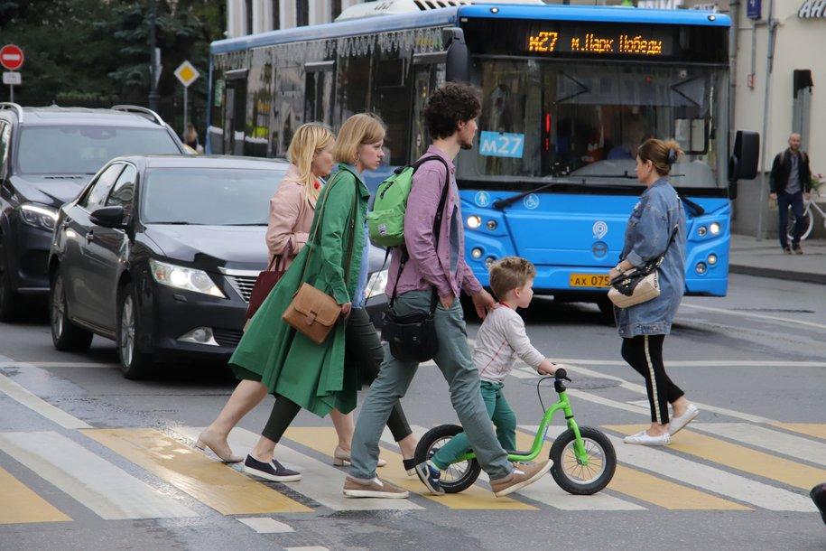 Москва вошла в топ-5 самых «пешеходных» городов мира
