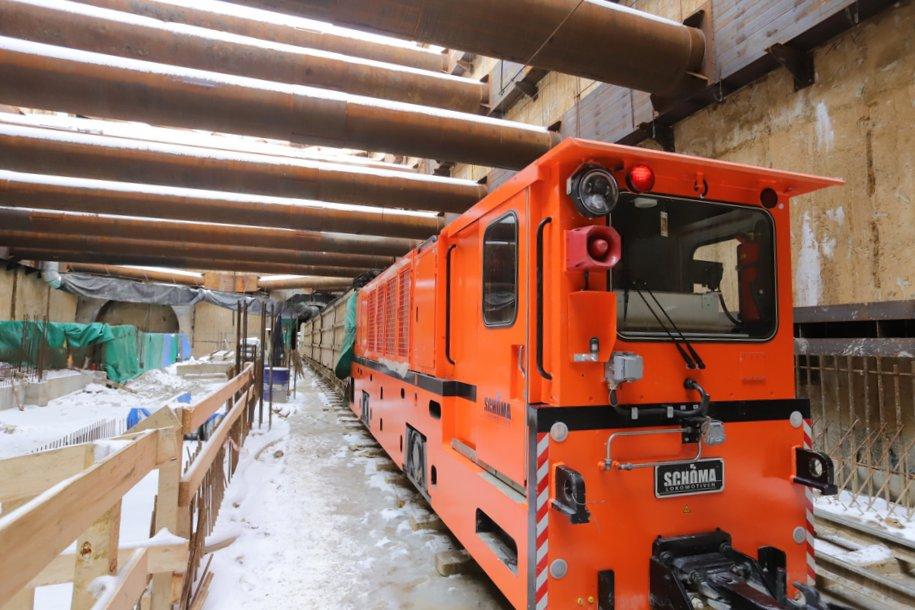 Юго-западный участок Большого кольца метро готов более чем на 60%