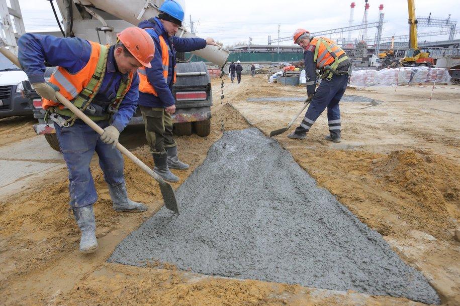 Завершено бетонирование моста через реку Лихоборка на участке Северо-Восточной хорды