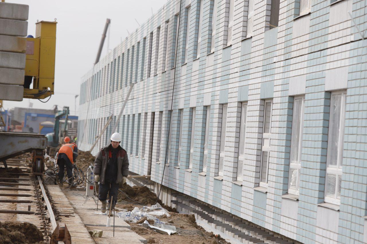 Опыт строительства COVID-центра в Вороновском может быть использован на стройках Москвы
