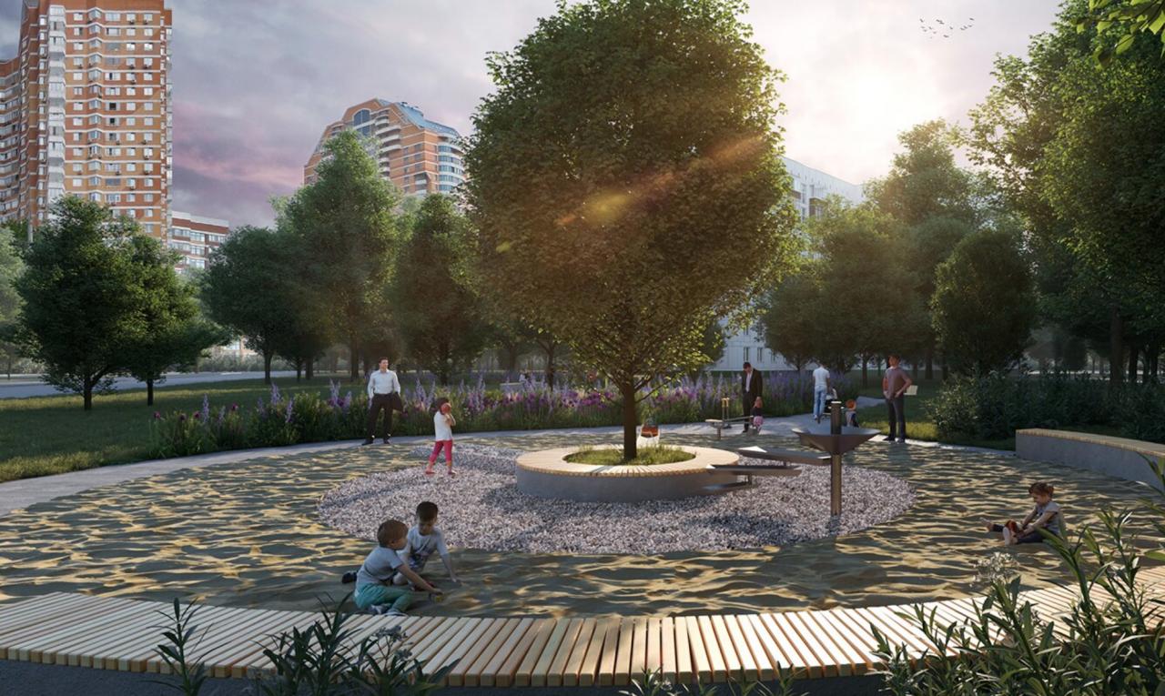 Благоустройство у станции «Проспект Вернадского» БКЛ метро завершат в 2021 году