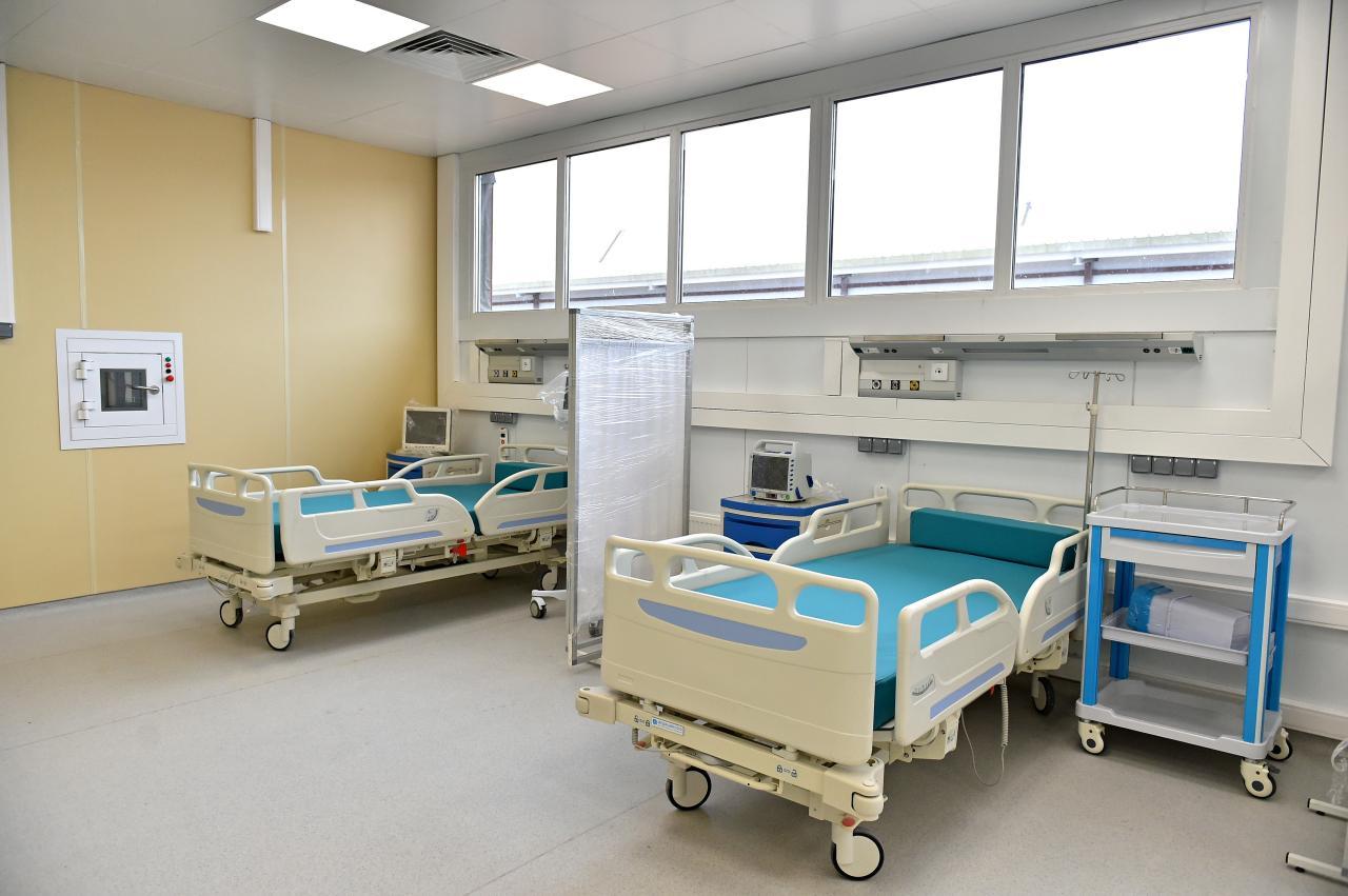 Госпиталь с нуля за месяц
