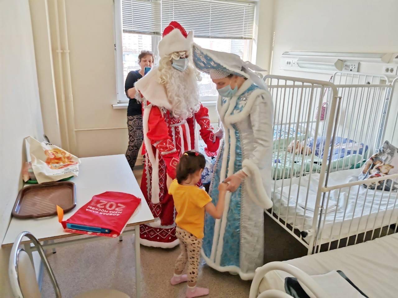 Собянин пожелал пациентам детских стационаров скорейшего выздоровления