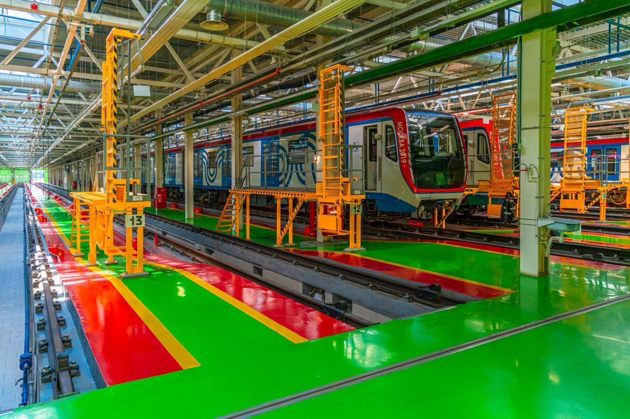 Развитие сети электродепо в Москве