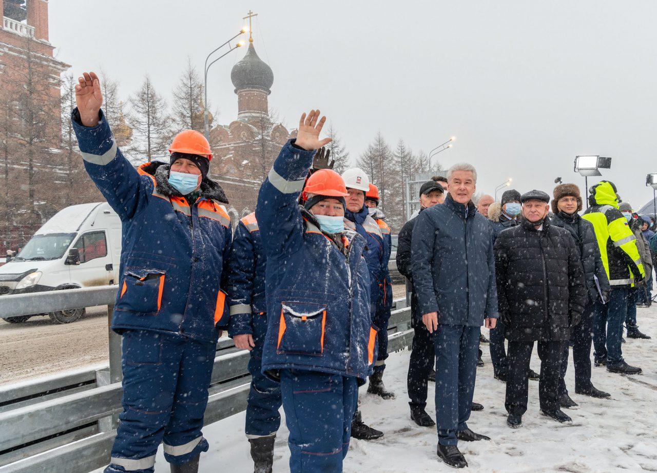 Новая развязка улучшит транспортную доступность для миллиона москвичей