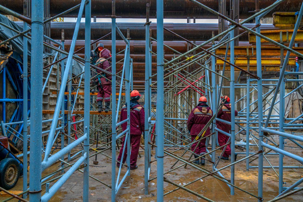 Возле станции метро «Электрозаводская» БКЛ построят подземный паркинг