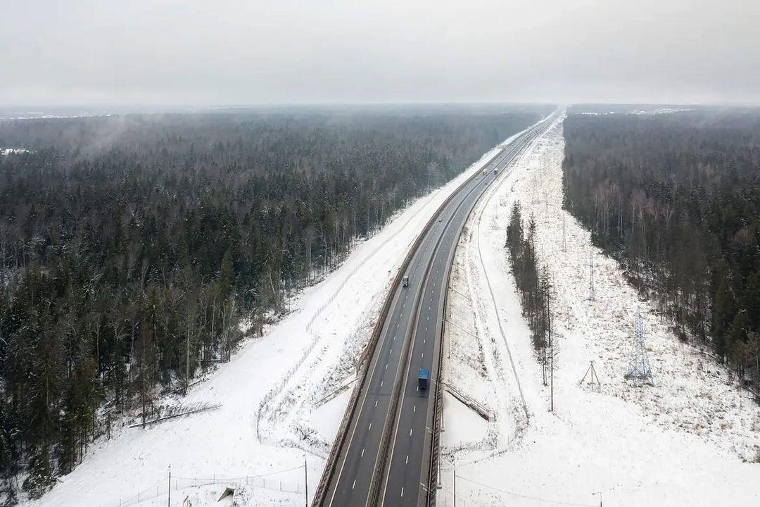 В московском регионе открыли участки ЦКАД длинною 170 км