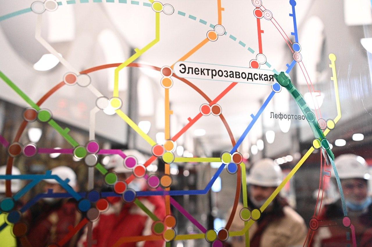 Возведение станции «Электрозаводская» БКЛ метро потребовало специальных технических решений