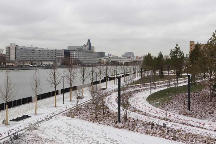 Реконструкция набережной Марка Шагала завершит формирование прибрежной зоны