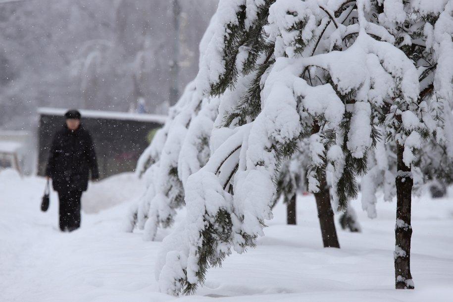Обильные снегопады ожидают в Москве на неделе