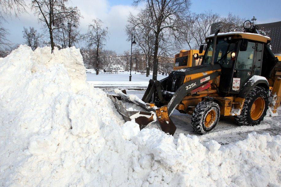 365 тысяч кубов снега утилизировали в Москве за два дня