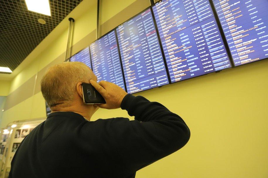 Более 70 рейсов задержали и отменили в московских аэропортах