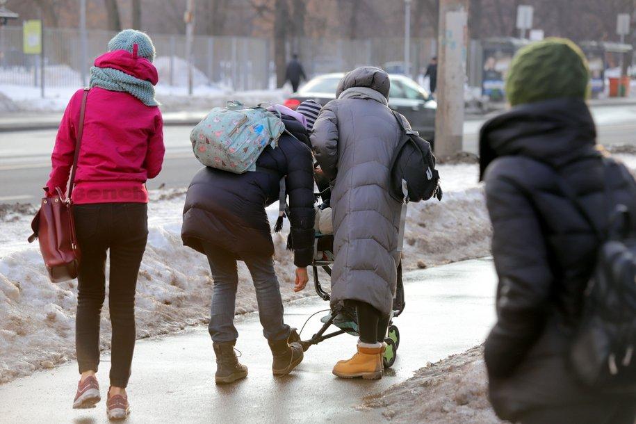 МЧС предупредило москвичей о гололеде 14 декабря