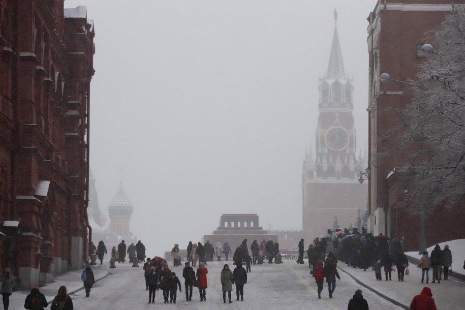 Красную площадь закроют для посещения вечером 31 декабря