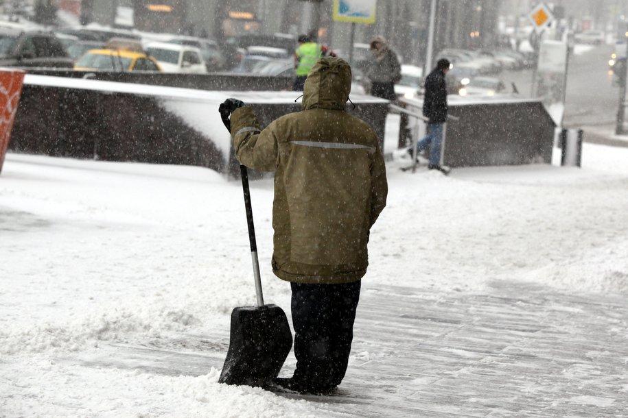 В Москве объявлен «жёлтый» уровень погодной опасности из-за гололеда