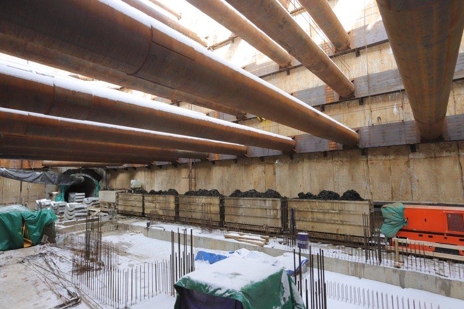 32% составляет строительная готовность восточного участка БКЛ