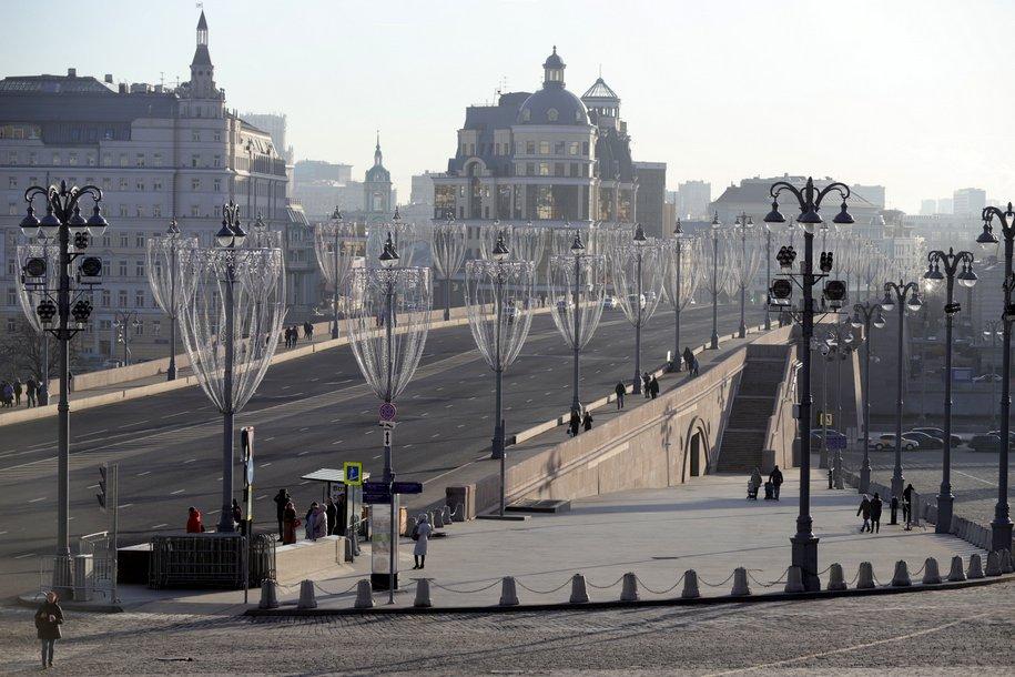 В Москве сохранится малооблачная и морозная погода