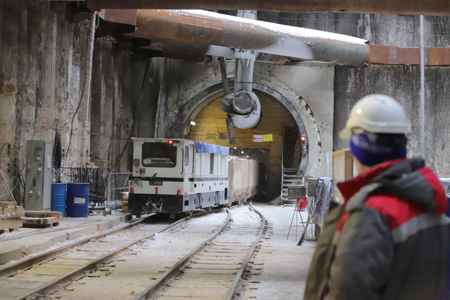 Завершено строительство соединительной ветки между БКЛ и Серпуховско-Тимирязевской линиями