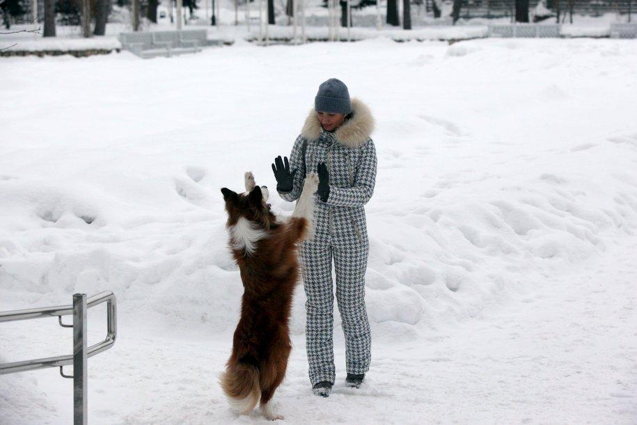 Москвичей ждёт скандинавская зима