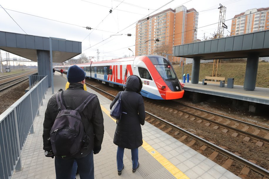 В 2020 году в Москве открыли 15 остановочных ЖД пунктов