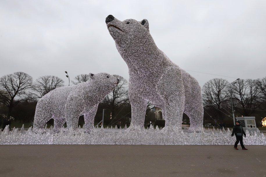 «Полярные медведи» вернулись в столичное Ростокино