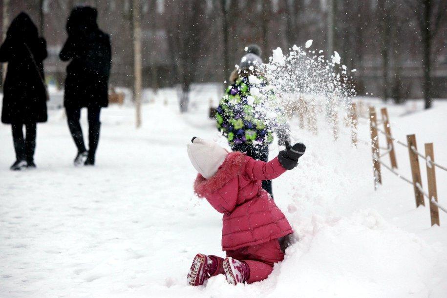 Снежный покров в Москве сохранится, несмотря на оттепель 31 декабря