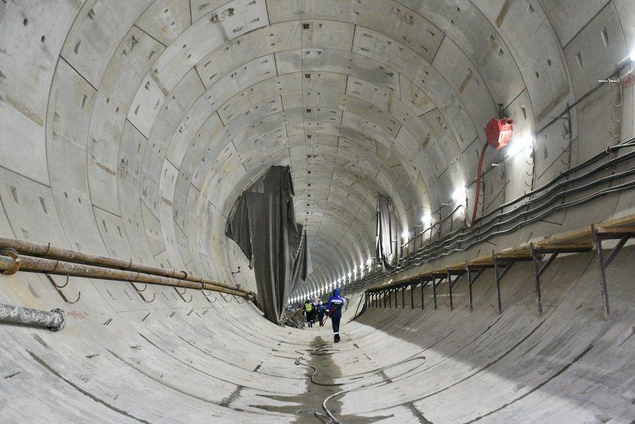 Проходку тупиков завершили за станцией «Деловой центр» Большого кольца метро